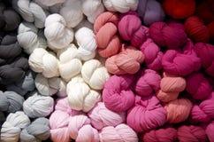 kolorowi scarves Obraz Royalty Free