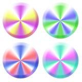 Kolorowi sieć guziki Fotografia Royalty Free