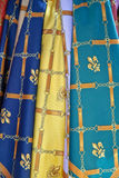 kolorowi szaliki Zdjęcia Royalty Free