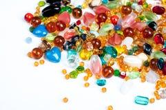 Kolorowi koraliki Zdjęcie Stock