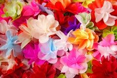 Kolorowi sztuczni kwiaty Obrazy Royalty Free