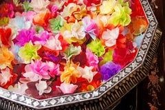 Kolorowi sztuczni kwiaty Zdjęcia Royalty Free
