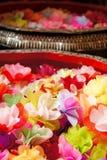 Kolorowi sztuczni kwiaty Fotografia Royalty Free