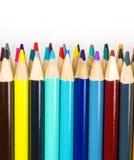 Kolorowi sztuka ołówki obraz royalty free