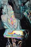 kolorowi tło kryształy zdjęcie stock