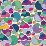 kolorowi tło kształty Zdjęcia Stock