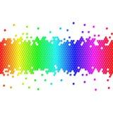 kolorowi tło sześciany Obraz Stock