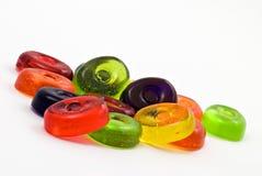 kolorowi tło cukierki Obrazy Royalty Free