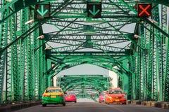 Kolorowi taxi Zdjęcie Royalty Free