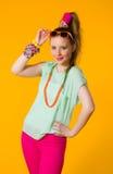 Kolorowi ubrania Zdjęcie Royalty Free