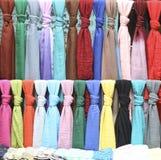 Kolorowi ubrania i tekstura Obraz Royalty Free