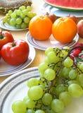Kolorowi warzywa i owoc zdjęcie stock