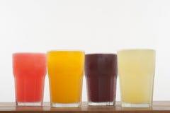 Kolorowi Świezi soki Obraz Royalty Free