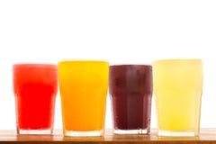Kolorowi Świezi soki Obraz Stock