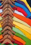 kolorowi wyborów przypadkowi ubrania obrazy stock