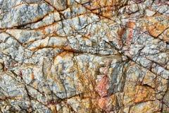 Kolorowi wzory i tekstury kamień Zdjęcie Stock