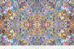 Kolorowi wzory płytki ilustracja wektor