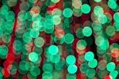 Kolorowi zamazani bokeh światła ilustracji