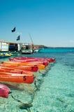 kolorowy łódź klingeryt Zdjęcia Royalty Free