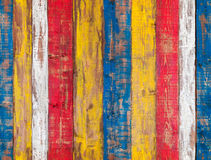 kolorowy ścienny drewniany bezszwowa tło tekstura Obraz Royalty Free