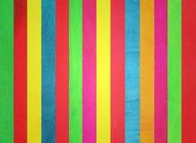 kolorowy śmietanki lodu kija drewno Zdjęcia Royalty Free