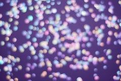 Kolorowy Świąteczny światła błyskotanie Shinny Abstrakcjonistycznego Bokeh tło Obraz Stock