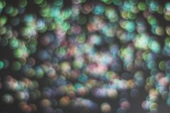 Kolorowy Świąteczny światła błyskotanie Shinny Abstrakcjonistycznego Bokeh tło Zdjęcia Stock