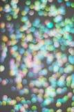 Kolorowy Świąteczny światła błyskotanie Shinny Abstrakcjonistycznego Bokeh tło Fotografia Royalty Free