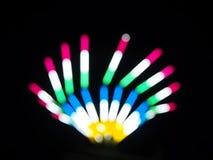 Kolorowy światło wir zdjęcie wideo