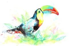 Kolorowy świat natura royalty ilustracja