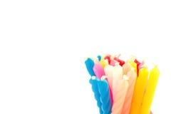 Kolorowy świeczki tło Obraz Royalty Free