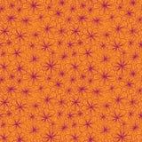 Kolorowy abstrakcjonistyczny bezszwowy kwiat z stylizowanym Zdjęcia Stock