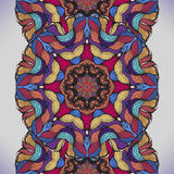 Kolorowy abstrakcjonistyczny bezszwowy wektoru wzór. Zdjęcie Stock