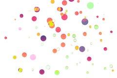 Kolorowy abstrakcjonistyczny bokeh tło Obrazy Stock