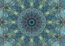 Kolorowy abstrakcjonistyczny mandala tło etniczni motywy Fotografia Stock