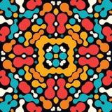 Kolorowy abstrakcjonistyczny ornament Zdjęcie Stock
