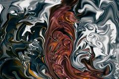 Kolorowy abstrakcjonistyczny rysunek - tło stronniczo zamazuje tona Zdjęcia Stock