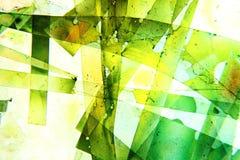 Kolorowy abstrakcjonistyczny rzadkopłynny obraz Fotografia Royalty Free
