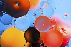 Kolorowy abstrakcjonistyczny tło na podstawie barwić piłek Zdjęcia Stock
