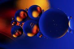 Kolorowy abstrakcjonistyczny tło na podstawie barwić piłek Fotografia Royalty Free
