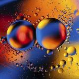 Kolorowy abstrakcjonistyczny tło na podstawie barwić piłek Obrazy Royalty Free