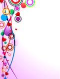 kolorowy abstrakcjonistyczny tło ilustracja wektor