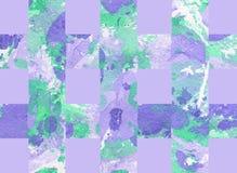Kolorowy abstrakcjonistyczny tło z lampasami Fotografia Royalty Free