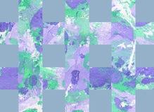 Kolorowy abstrakcjonistyczny tło z lampasami Zdjęcia Royalty Free