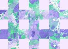 Kolorowy abstrakcjonistyczny tło z lampasami Obrazy Royalty Free