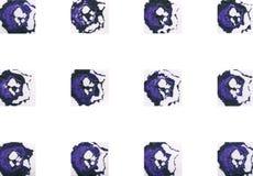 Kolorowy abstrakcjonistyczny tło z znaczkami Obraz Stock