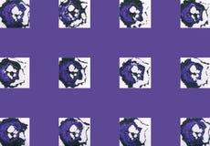 Kolorowy abstrakcjonistyczny tło z znaczkami Obrazy Stock