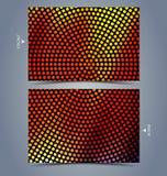 Kolorowy abstrakcjonistyczny technologii tło Obrazy Stock