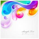 kolorowy abstrakcjonistyczny tło Fotografia Stock