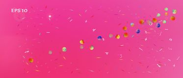 Kolorowy abstrakta ultra szeroki astronautyczny tło royalty ilustracja